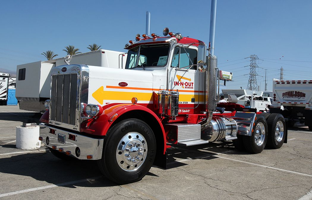 Innout truck transport trucks peterbilt trucks
