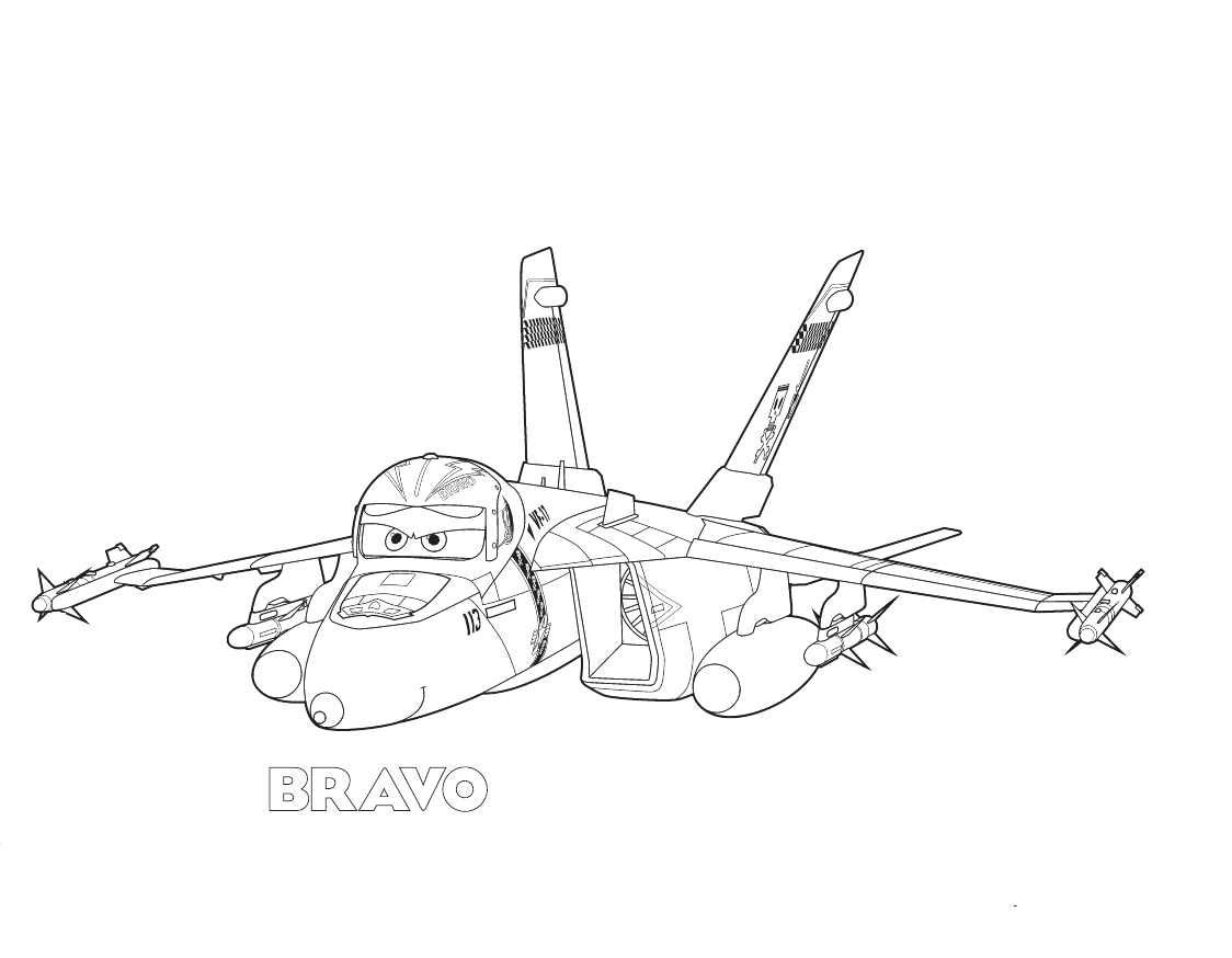 Bravo Planes Disney coloring pages - activity sheets for kids ...