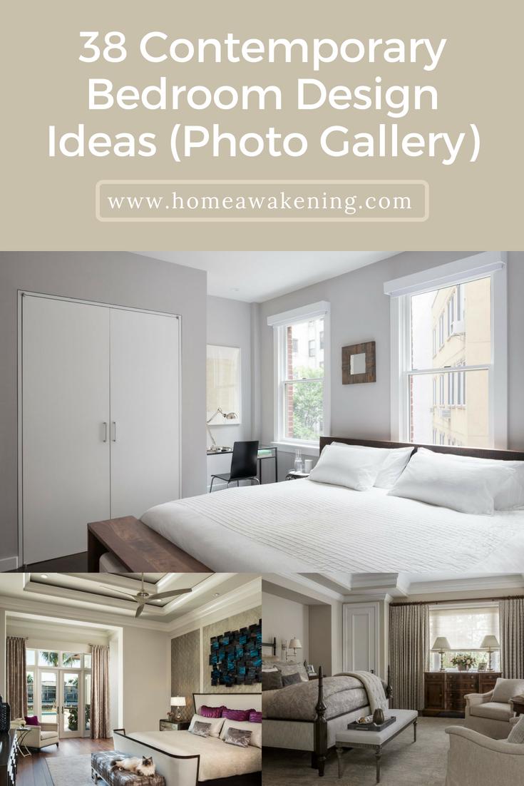 Beau 38+ Beautiful Contemporary Bedroom Designs And Ideas #bedrooms  #interiordesign #homedesign