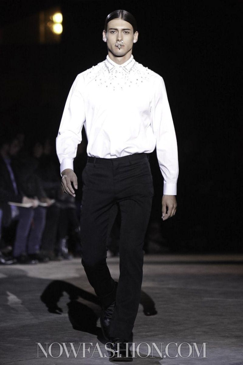 Givenchy - Menswear - Fall Winter 2012 - Paris - NOWFASHION