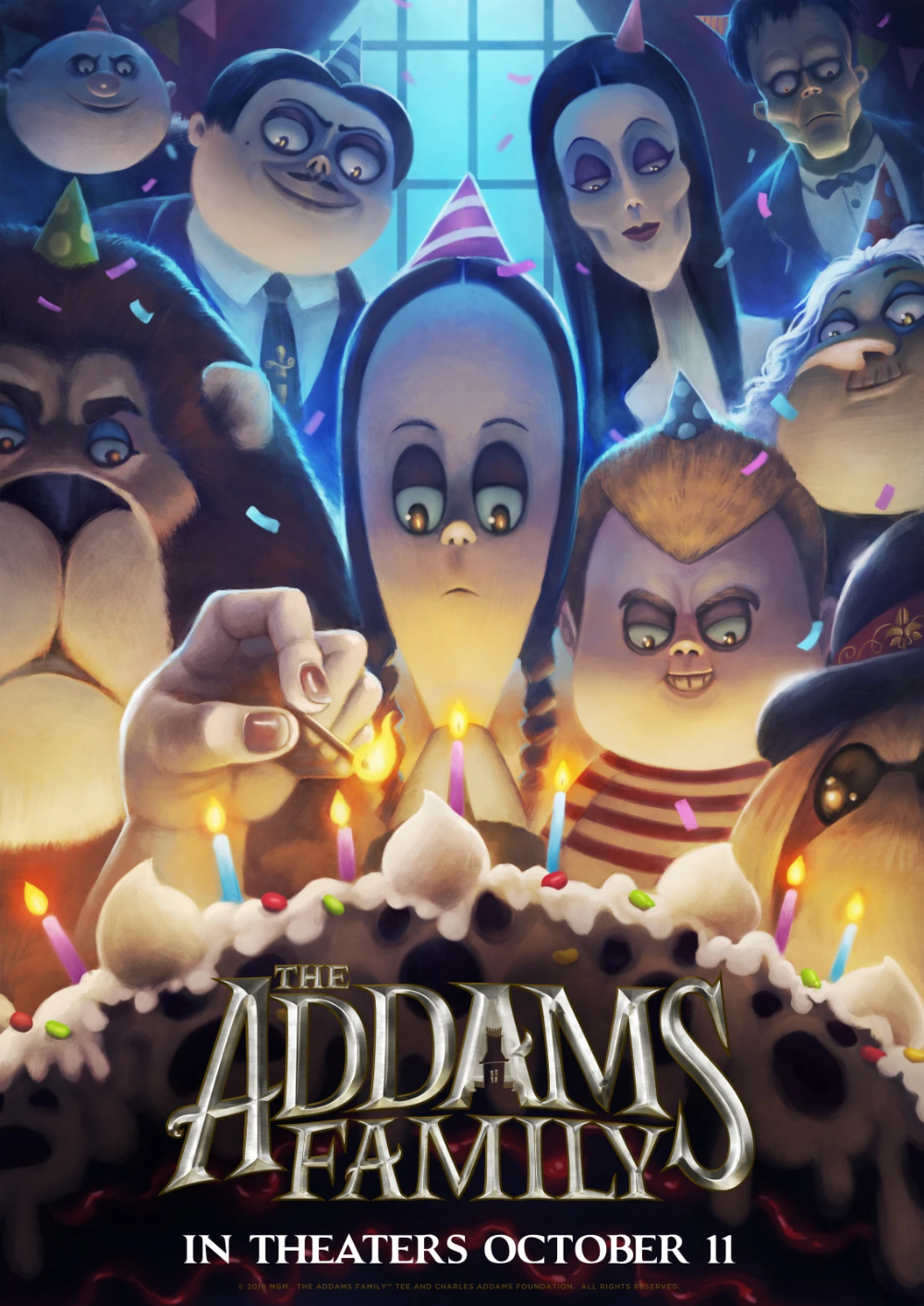 Addams Family With Tittle By Tubs Lab Addams Family Cartoon Addams Family Addams Family Movie