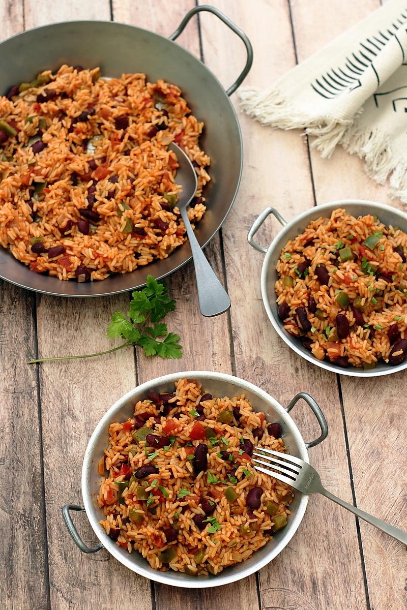 Riz cajun aux haricots rouges - Amandine Cooking