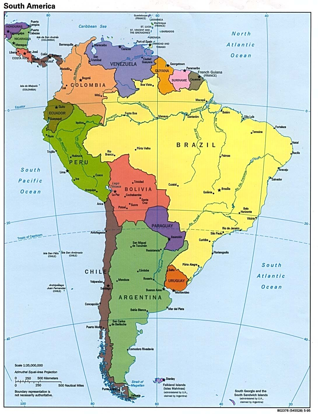 Download Stock Photos of physical map of south america images ...