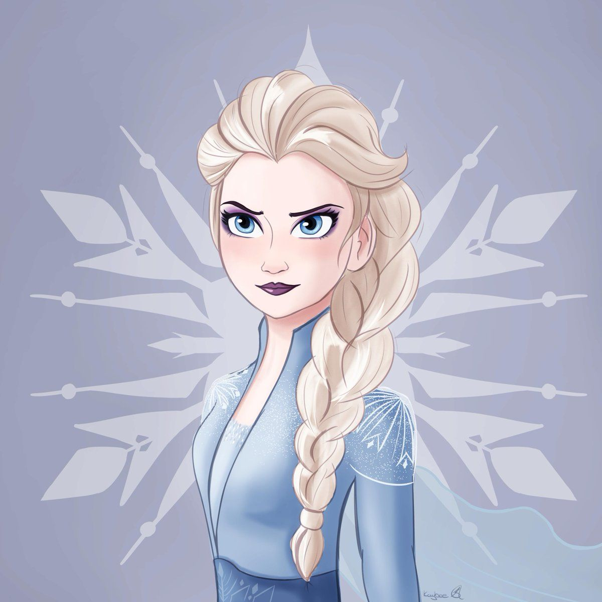 Art By Kay Bee Kaybee Worx On Twitter Frozen2 Frozen Art Frozen Fan Art Disney Princess Frozen