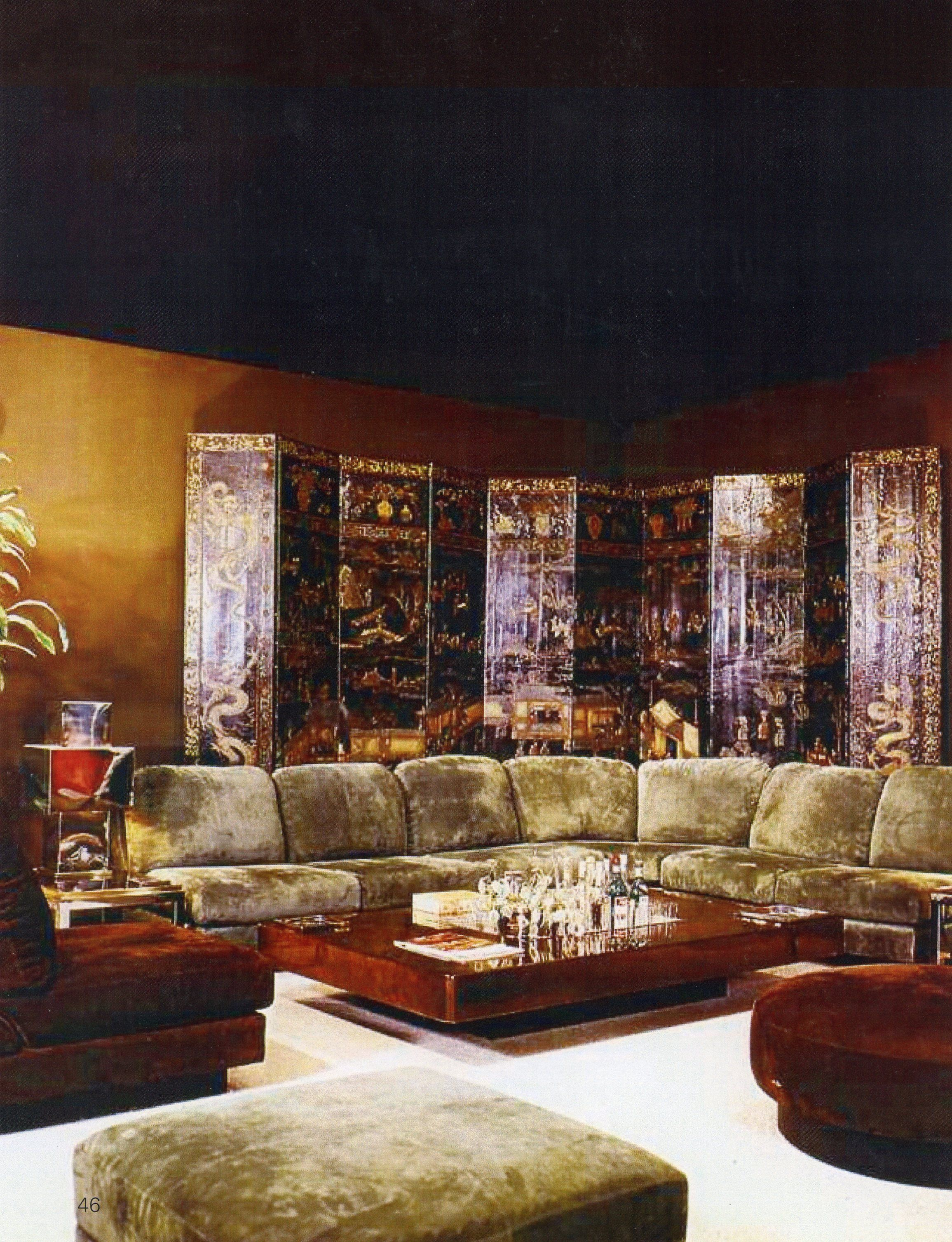 vintage willy rizzo interiordesign willyrizzo chic spaces rh pinterest com