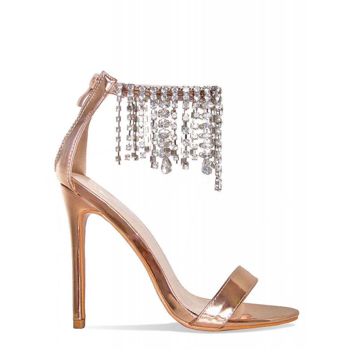 Elis There Diamonte Barely ShoesKicks Rose HeelsSimmi Gold pSzqUVMG