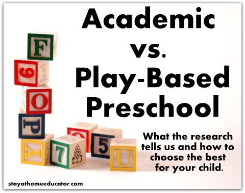 More Play Or More Academics For >> Let S End The Debate On Academics Or Play In Preschool Here S What
