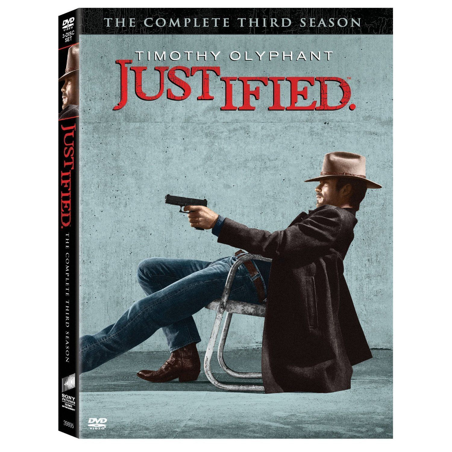 JUSTIFIED Season Poster See photos of the FX WesternCrime TV