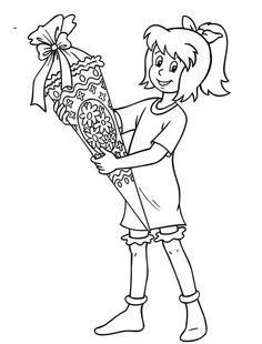 Bibi Und Tina 12 Coloring Pages Colouring Pages Free Prints