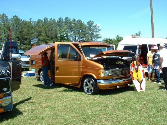 1992 Ford Econoline E150 Passenger Ford Custom Vans Ford Van