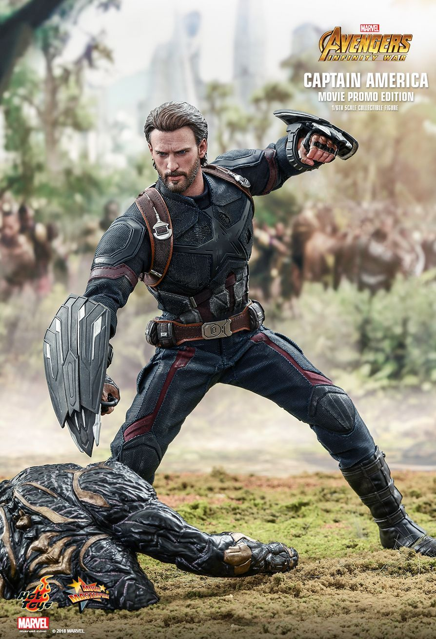 Hot Toys Avengers Infinity War Captain America Movie Promo