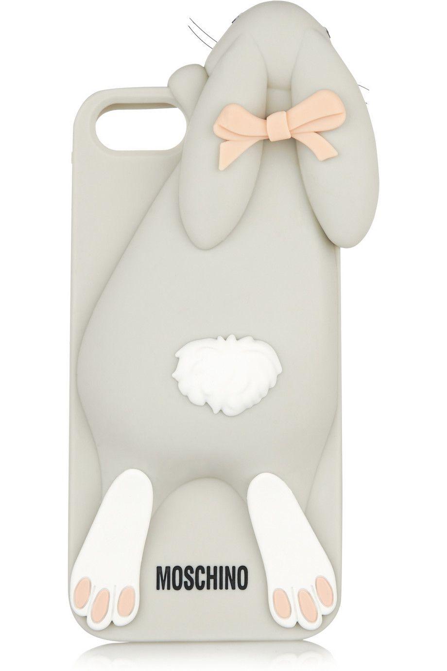 Moschino | Violetta rabbit iPhone 5 cover | NET-A-PORTER.COM ...