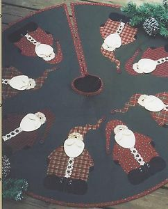 Rocking Around the Christmas Tree Skirt by MoonlightMercantile, $9.00