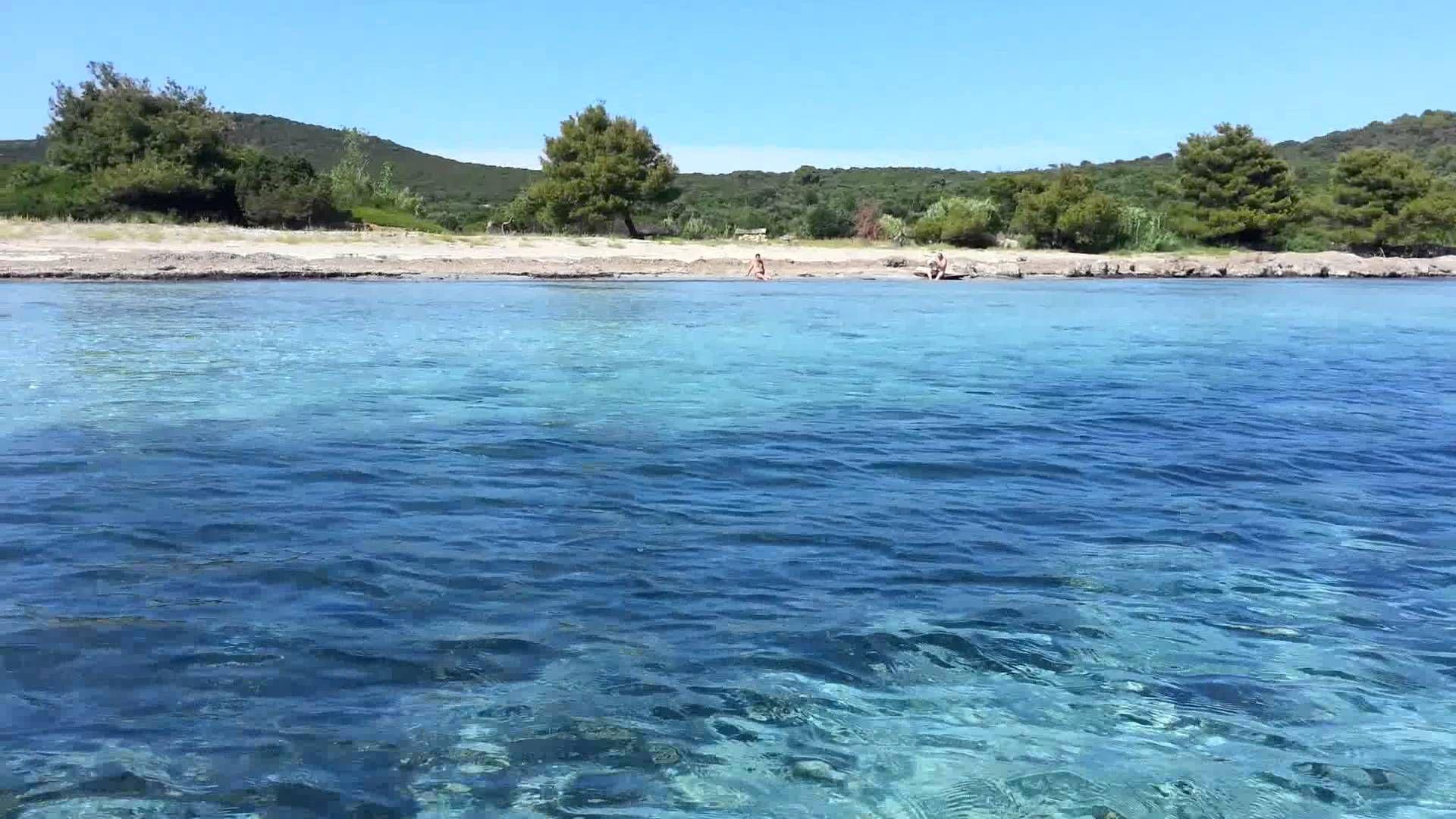 Ilovik Parzine Beach Beautiful Places Outdoor Croatia