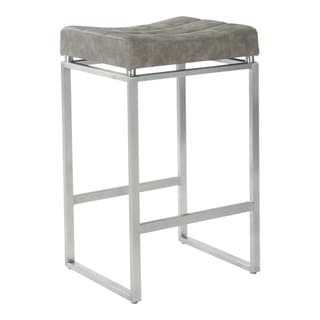Copper Grove Sornas 26 Inch Contoured Seat Counter Stool Set Of 2 Taupe Brown Mdf Counter Stools Bar Stools Stool