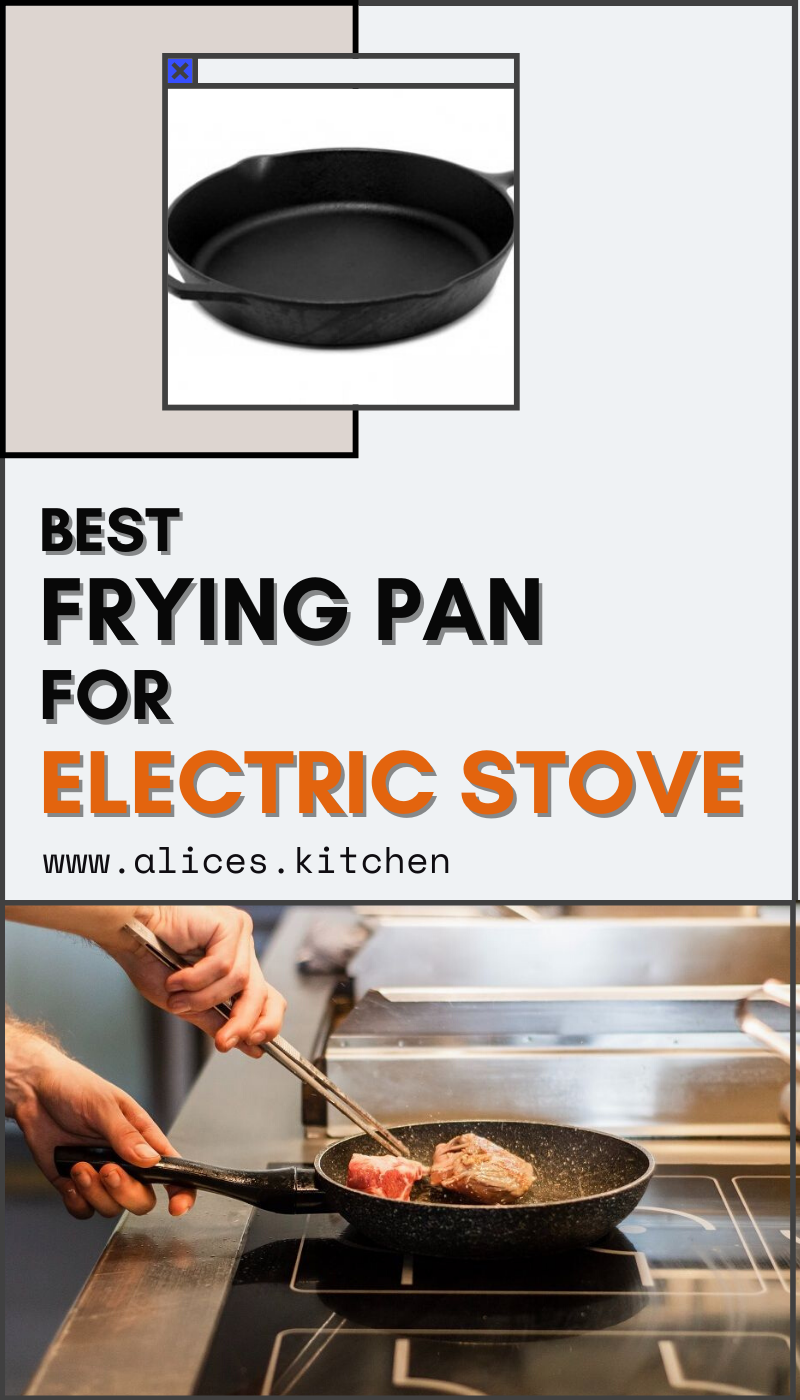 Having A Good Frying Pan Is Very Important For Any Kitchen Eggs For Breakfast You Need A Frying Pan Stir Fry For Lunch A F In 2020 Electric Stove Stove Electricity