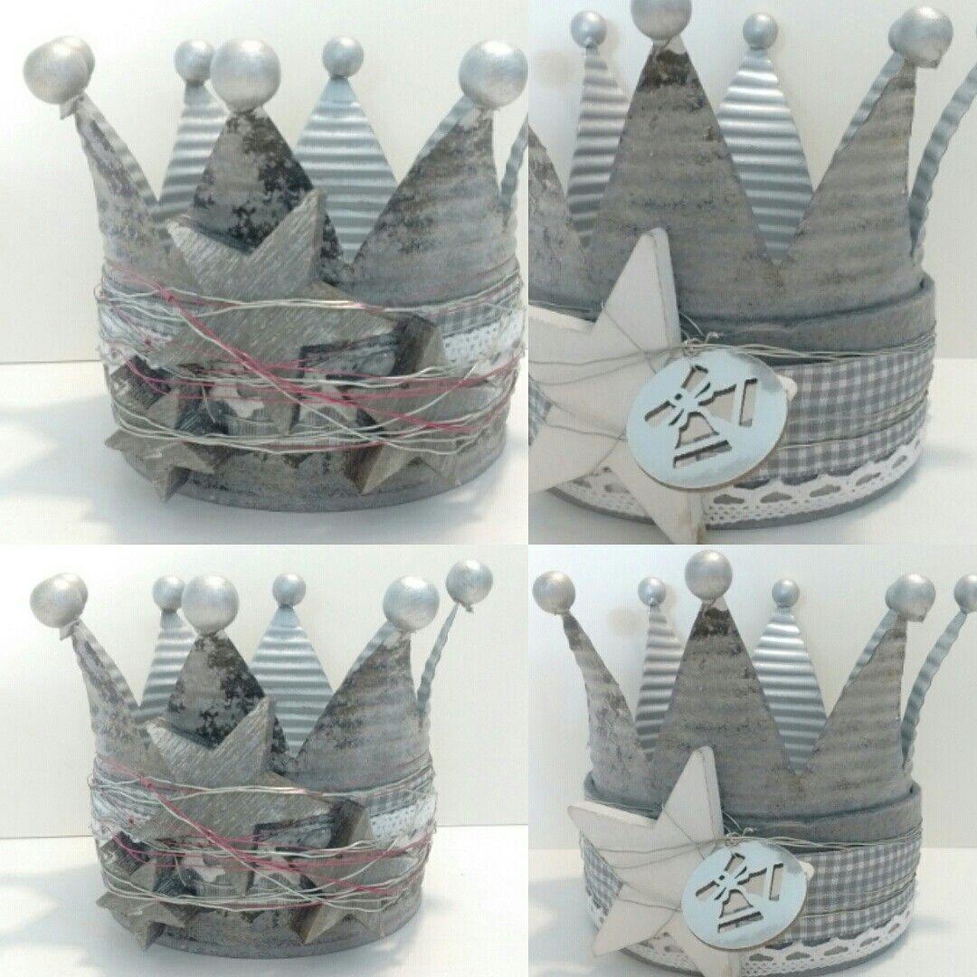 kaeptnfraune krone dose konservendose tin crown blikke kroon windlicht weihnachten. Black Bedroom Furniture Sets. Home Design Ideas