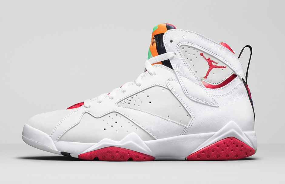 wholesale dealer cb1d5 0e1c6 Jordan Brand gets  Hare -y with Air Jordan 7 Retro