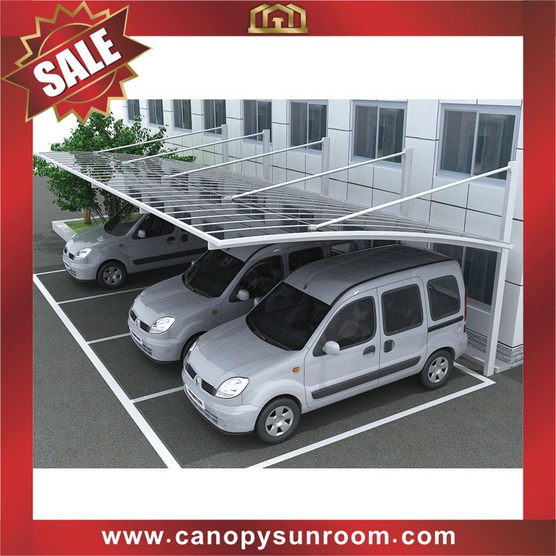 Outdoor Braces Parking Carport Cars Shelter Polycarbonate Pc Alu Aluminum China Car Shelter Carport Outdoor