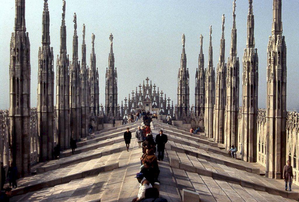 Salire sul Duomo di Milano é una delle migliori possibilità di ...