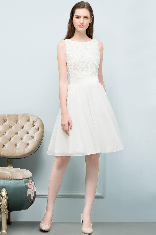 Hochzeitskleid kurz gunstig