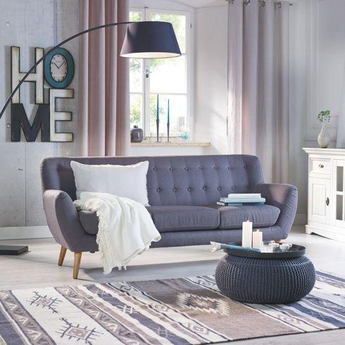 Mömax Dreisitzer Sofa Lars, 200u20ac Haus - Wohnzimmer Pinterest - einrichtungsideen wohnzimmer retro