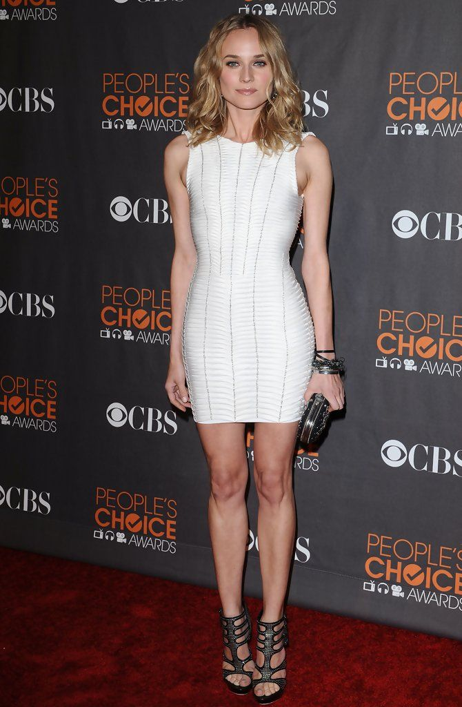 Diane Kruger - Peoples Choice Awards 2010 - Arrivals