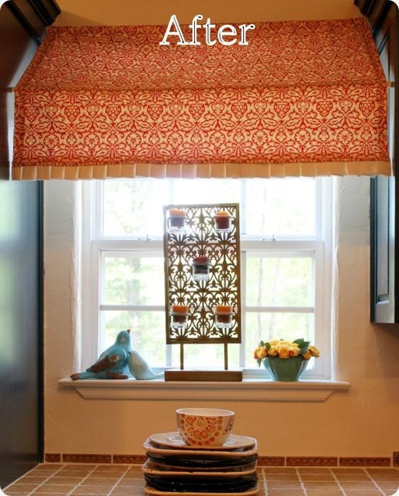 Kitchen Curtains Tension Rod: Cabana Style With Tension Rods And Fabric.