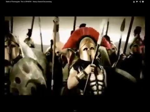 7c716dc67 Battle of Thermopylae This is SPARTA! History Channel Documentary - YouTube