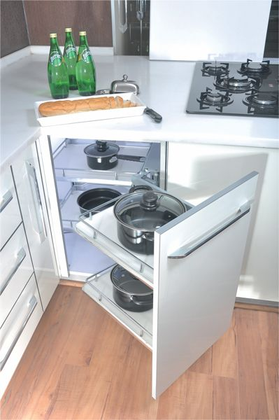 Best Blanco Magic Corner Universal Pull Out Unit For Straight 640 x 480