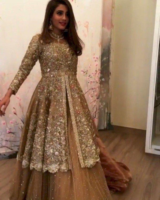 Fonkelnieuw 41 Fashionable Muslim Pakistani Outfit For Eid Mubarak XK-22