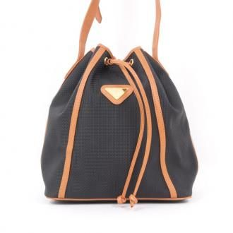 6b3c538ee38 Vintage Yves Saint Laurent YSL Drawstring Bucket Shoulder Bag ...