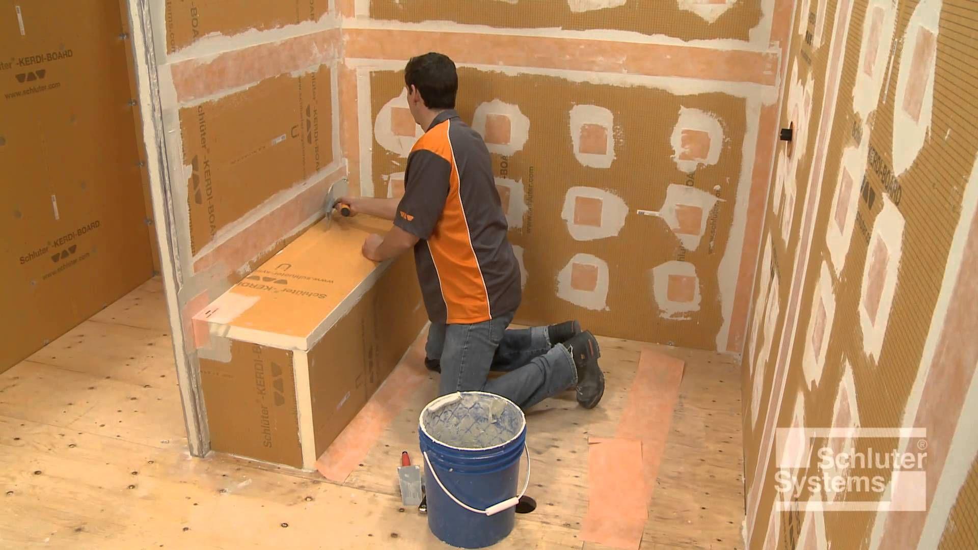 Kerdi Board Shower Floor Installation