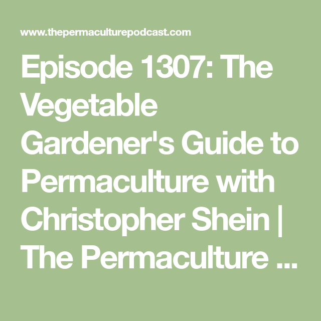 faa86da9e0a96a21a2c4a7b0cbfa1af1 - The Vegetable Gardener's Guide To Permaculture