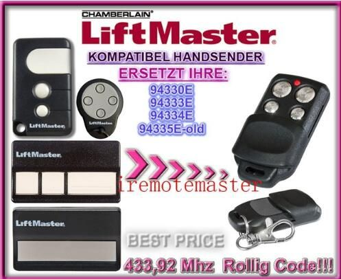 Chamberlain Liftmaster 94335e 94330e 94334e 94333e Replacement Garage Door Remote Control Free Shipping Signalizaciya