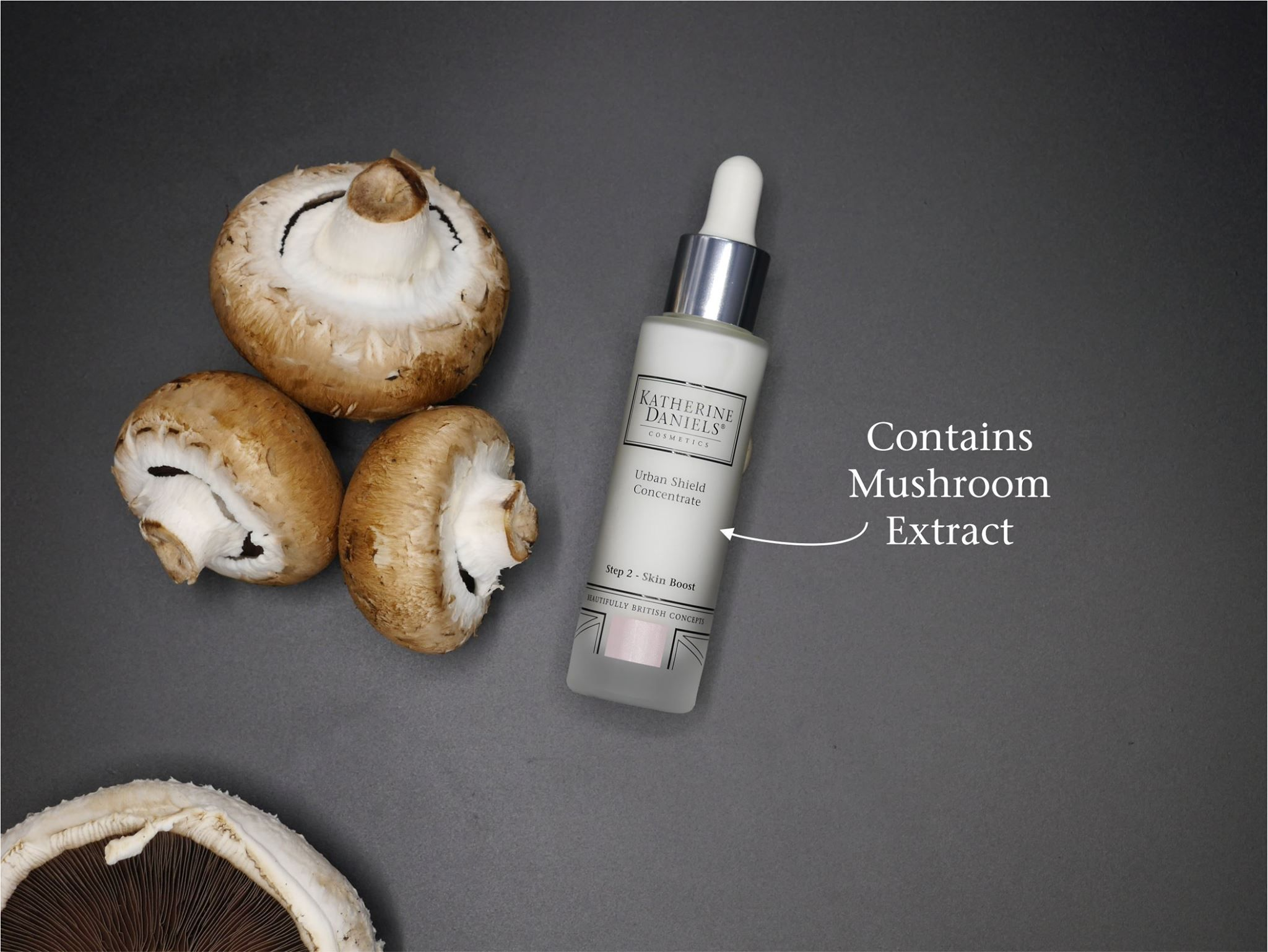 Discover the Urban Shield Concentrate, containing key