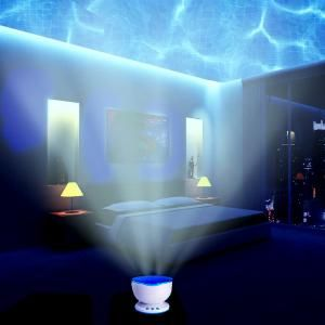 Buy Romantic Ocean Waves Projector Night Lamp Speaker Online At Best Price In India On Naaptol Com Bedroom Night Light Night Light Projector Night Light Kids