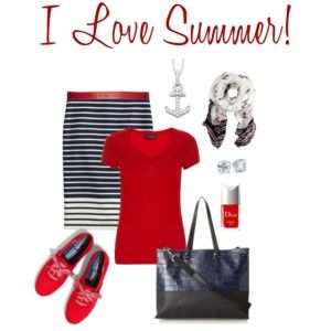 I Love Summer! Casual Outfit www.rleveryday.com