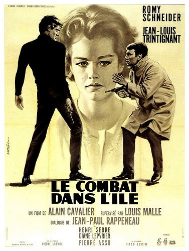 Le Combat Dans L Ile French Movie Posters Romy Schneider Movie Posters