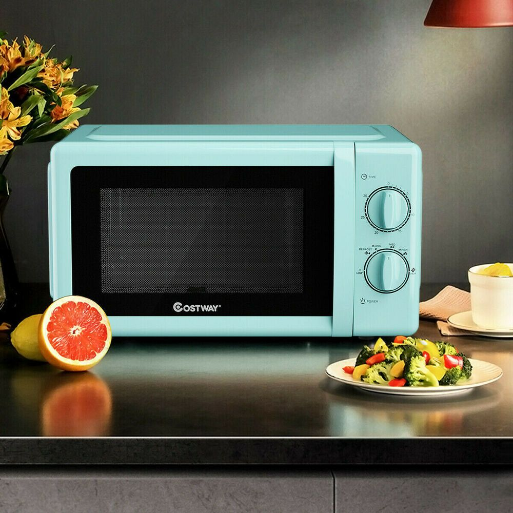 Details About Retro Countertop Microwave Oven Small Compact