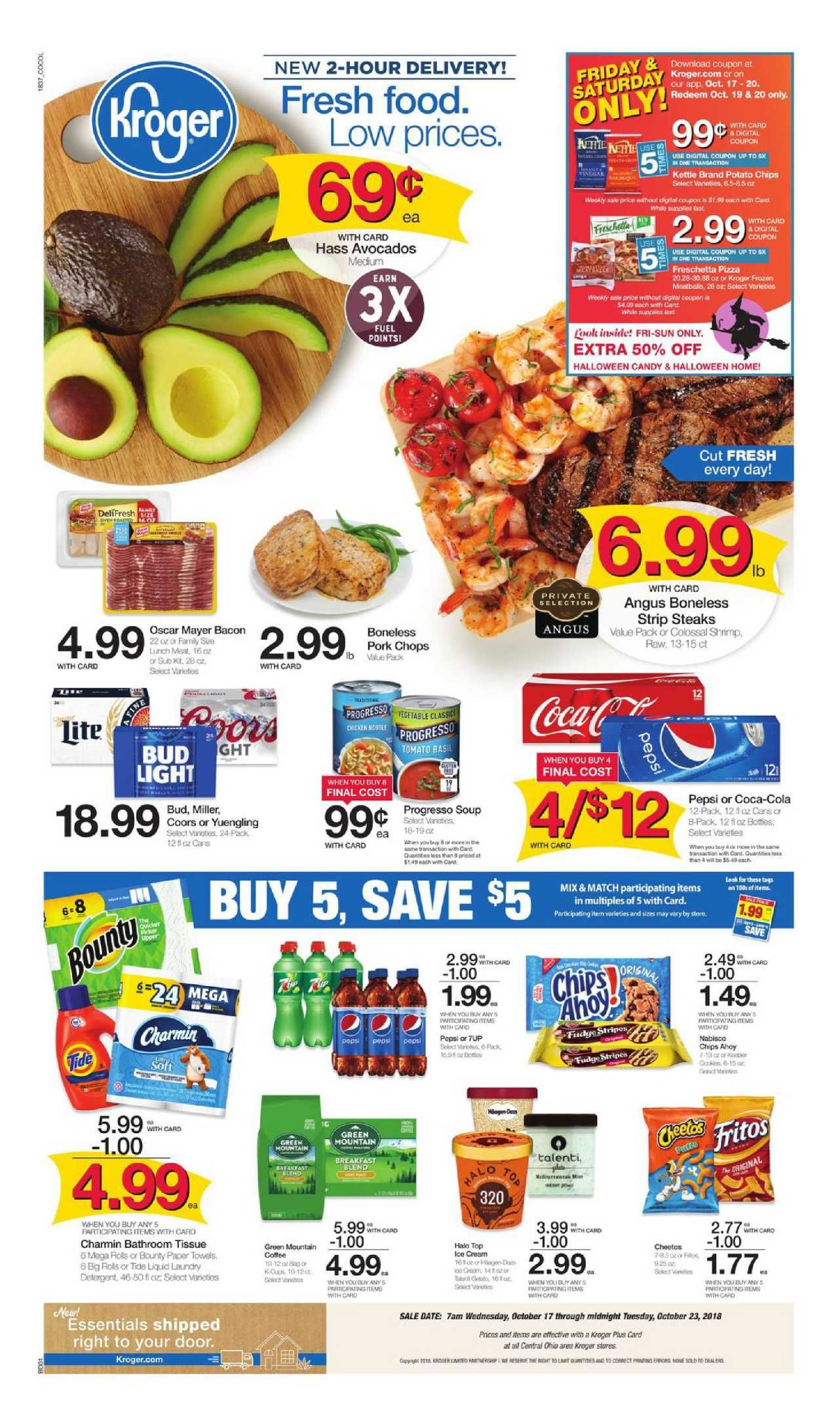 Kroger Weekly Ad Flyer July 17 - 23, 2019 | Weekly Ad