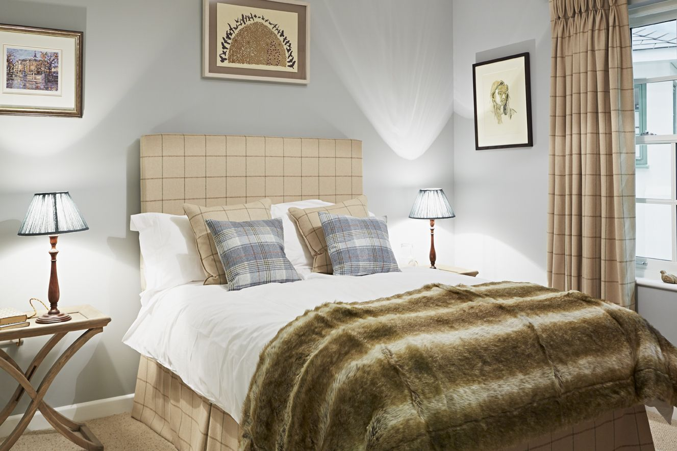 Bedroom at the Prince\'s Foundation Show Home featuring our ever ...
