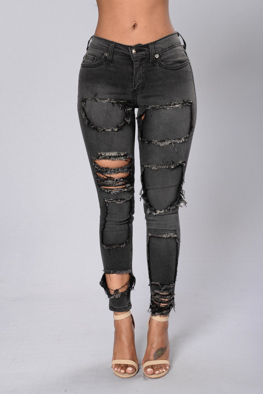 6f841dc2262 Hardcore Jeans - Faded Black in 2019
