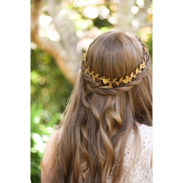 Bridal hair piece leaf hair vine modern wedding accessory versatile bridal hair adornment headdress Laurel leaf wreath Greek Goddess tiara