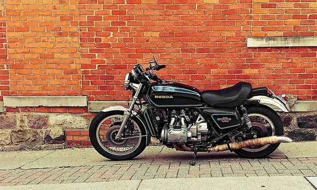 77-GL1000 | Vintage bikes, Cafe racer, Goldwing