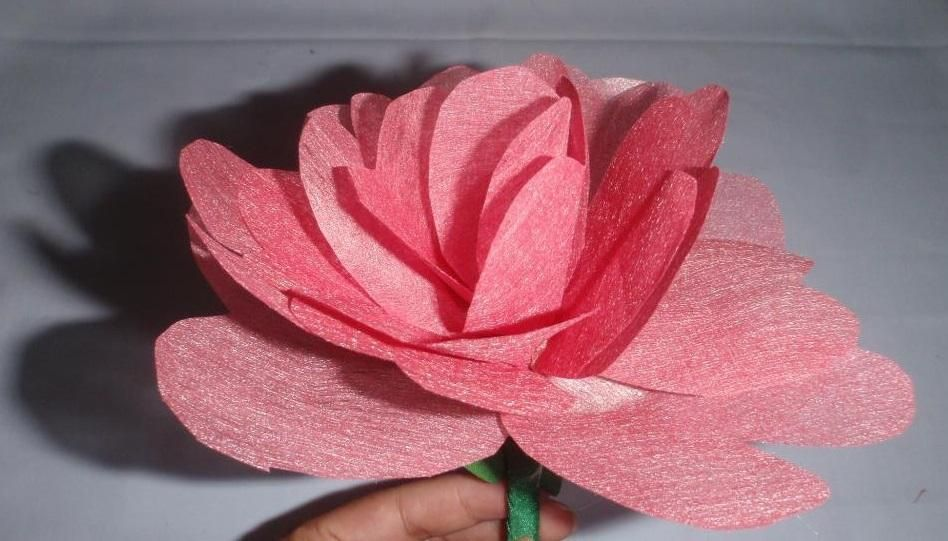 Diy tutorial diy flowers diy heart shaped flower using colored diy flowers diy heart shaped flower using colored wax paper mightylinksfo