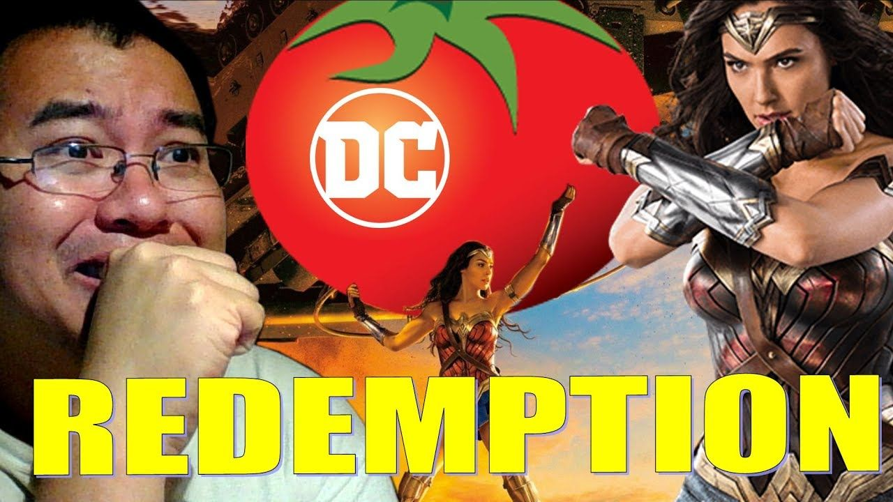 REDEMPTION for DCEU!! Wonder Woman is a FRESH Tomato