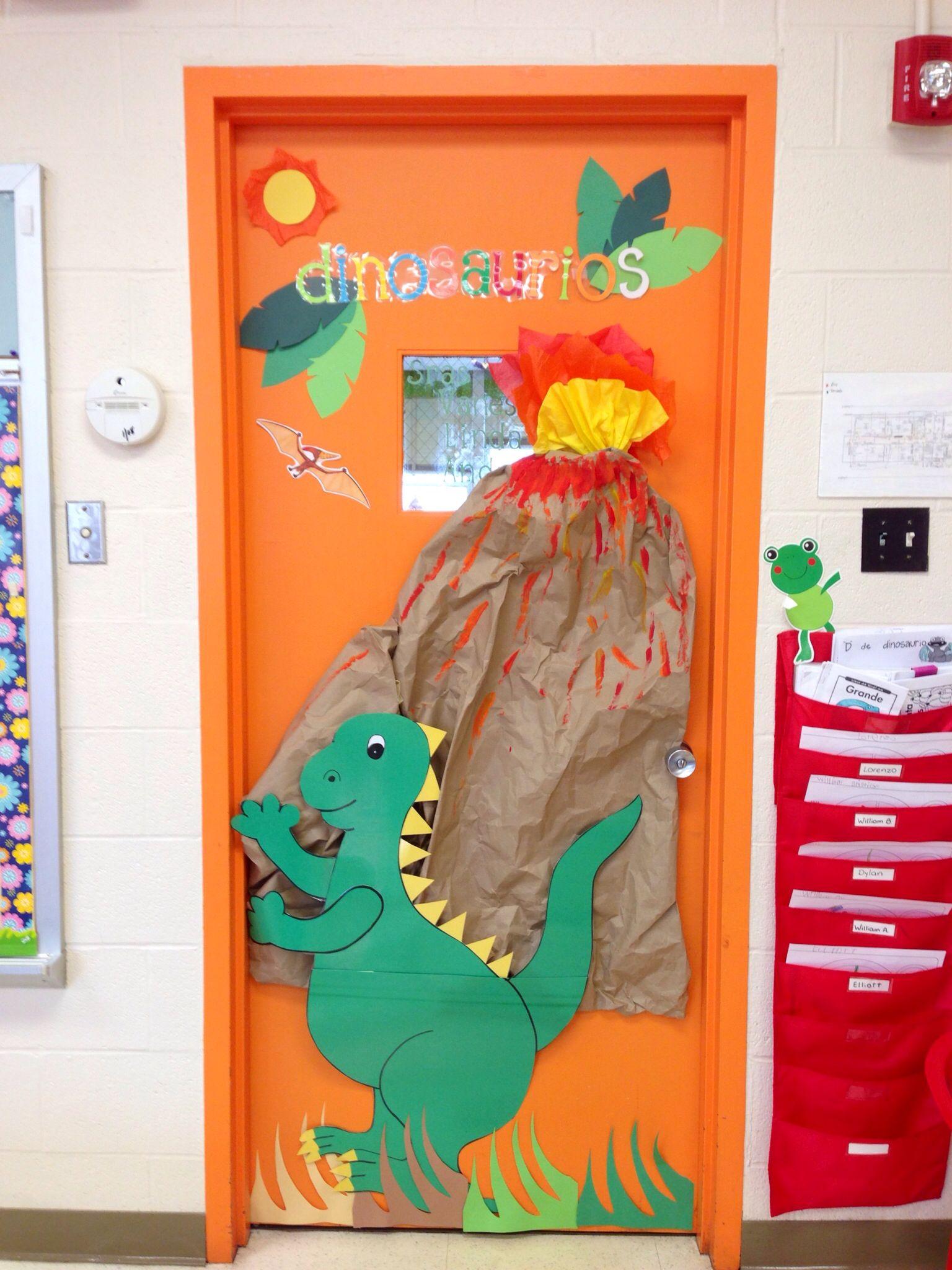Dinosaur Classroom Door Dinosaurs Dinosaur Classroom