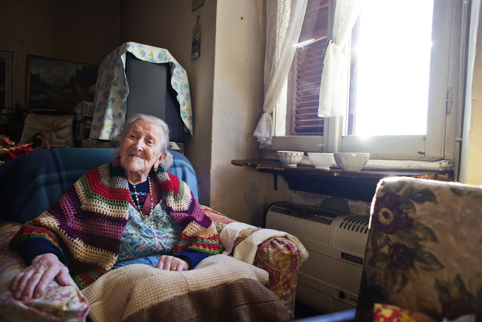 Emma Morano's singular achievement in life may have been perseverance. She lived for 117 years, crediting her longevity to raw eggs and her lack of a husband. She died on April 15.
