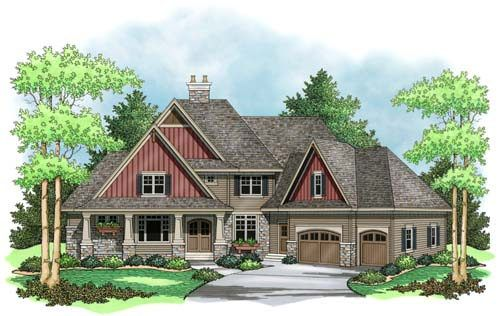 Cottage Style House Plans 4032 Square Foot Home 2 Story 4